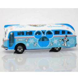 Xe bus mô hình Tomica Disney Resort Frozen Fantasy 2016