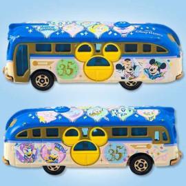 Xe bus mô hình Tomica Disney Resort TDS 35th Anniversary Cruiser (No Box)