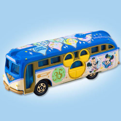 Xe bus mô hình Tomica Disney Resort TDS 35th Anniversary Cruiser (No Box)