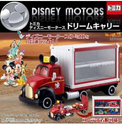 Xe Container Rơ mooc Tomica Disney Motors Dream Carry