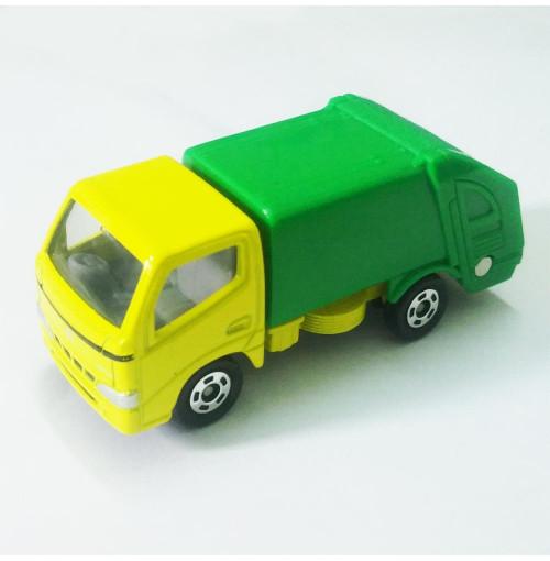 Xe ô tô chở rác mô hình Tomica Toyota Dyna Truck - Green