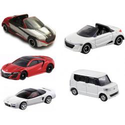 Bộ 5 xe ô tô mô hình Tomica Honda (No Box)