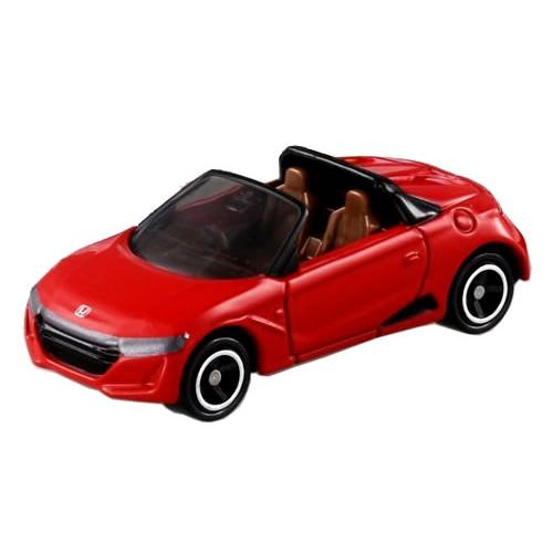 Xe ô tô mui trần mô hình Tomica Honda S660 màu đỏ (No Box)