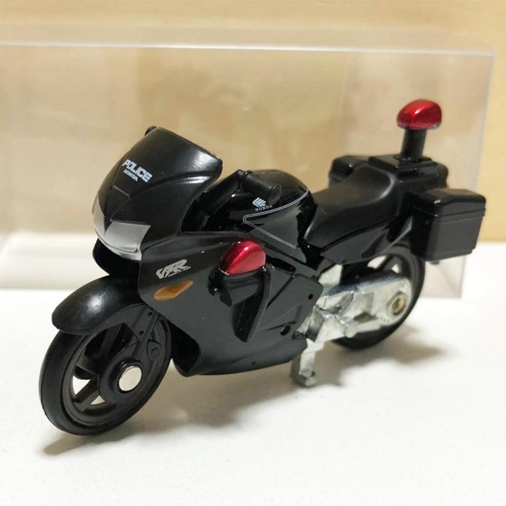 Xe motor cảnh sát Tomica Honda VFR 4 tỷ lệ 1/32 màu đen