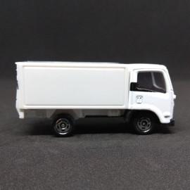 Xe ô tô tải mô hình Tomica Isuzu Elf Alsok trắng