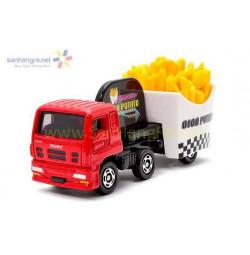 Mô hình xe Tomica Isuzu Giga Fried Potato 55 (Box)