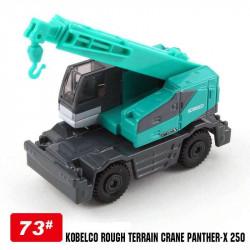 Xe cần cẩu mô hình Tomica Kobelco Crane - Xanh
