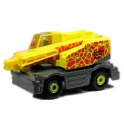 Xe cần cẩu mô hình Tomica Kobelco Crane - Vàng
