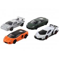 Bộ 4 siêu xe ô tô mô hình Tomica Lamborghini