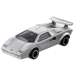 Siêu xe ô tô mô hình Tomica Lamborghini Countach LP500S màu bạc