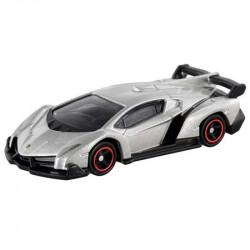 Siêu xe ô tô mô hình Tomica Lamborghini Veneno màu ghi
