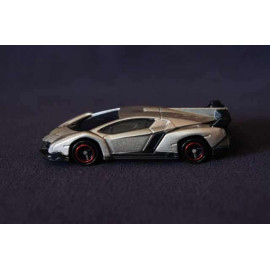 Siêu xe ô tô mô hình Tomica Lamborghini Veneno màu ghi (Không hộp)