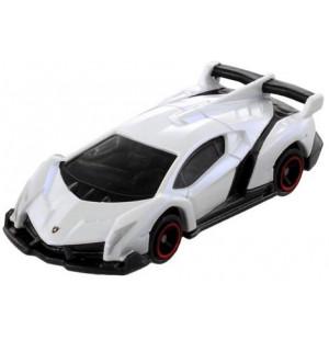 Siêu xe ô tô mô hình Tomica Lamborghini Veneno màu trắng