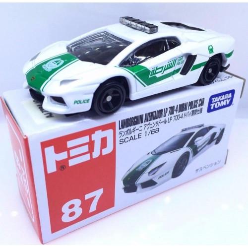 Xe ô tô cảnh sát mô hình Tomica Lamborghini Aventador LP700-4 (Box)