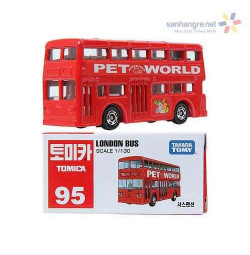 Xe mô hình bus 2 tầng Tomica London Bus 95 (Box)
