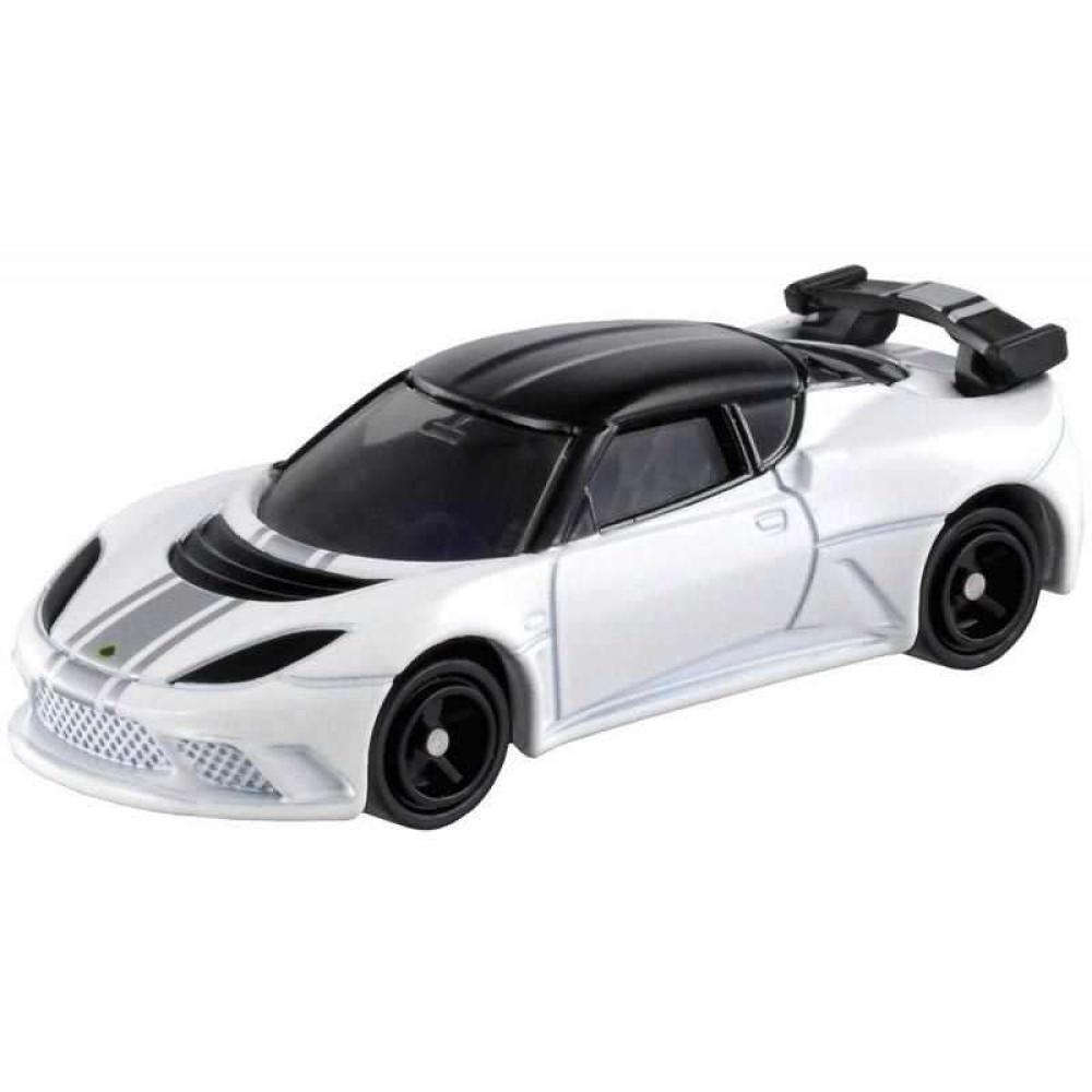 Xe mô hình Tomica Lotus Evora GTE Diecast Car Model tỷ lệ 1/64 trắng (Không hộp)