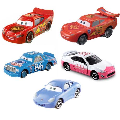 Bộ 5 xe ô tô mô hình Tomica Disney McQueen