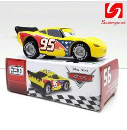Xe ô tô mô hình Disney Cars Lighting McQueen Jeff Gorvette (Box)