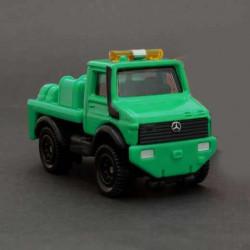 Xe kéo móc mô hình Tomica Mercedes-Benz UNIMOG