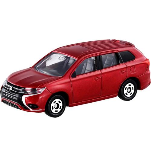 Xe ô tô mô hình Tomica Mitsubishi Outlander PHEV - Đỏ