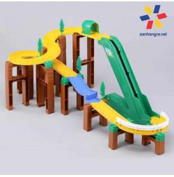 Bộ đồ chơi mô hình đường đua leo núi xe Tomica System