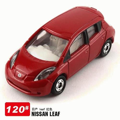 Xe ô tô mô hình Tomica Nissan Leaf màu đỏ