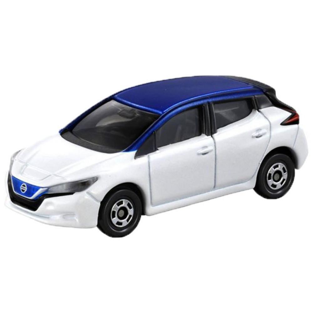 Xe ô tô mô hình Tomica Nissan Leaf White