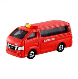 Xe mô hình cứu hỏa Tomica Nissan Caravan Fire 27 (box)