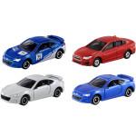 Bộ 4 xe ô tô mô hình Tomica Subaru (No Box)