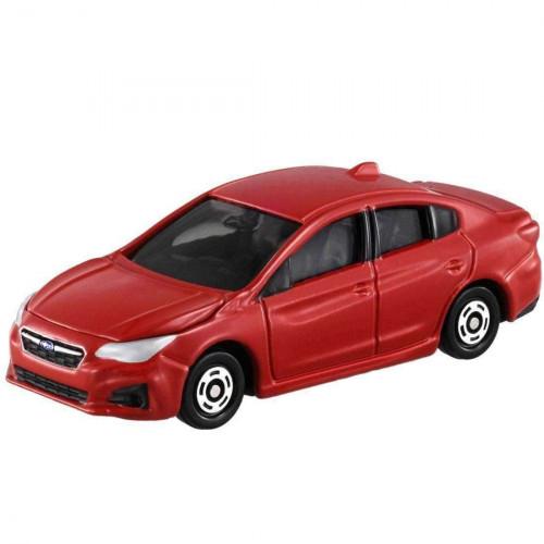 Xe ô tô mô hình Tomica Subaru Impreza Q4 - Đỏ