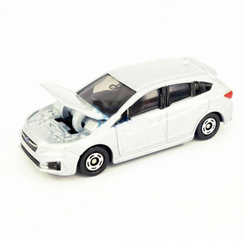 Xe ô tô mô hình Tomica Subaru Impreza Sport - Trắng