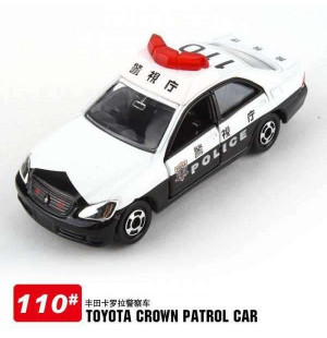 Xe mô hình cảnh sát Tomica Toyota Crown Patrol Car 110