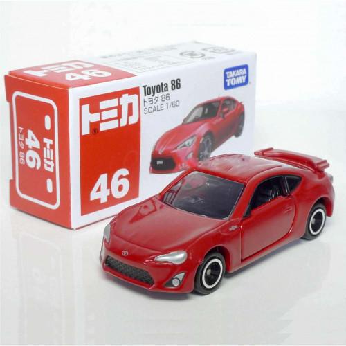 Xe ô tô mô hình Tomica Toyota 86 tỷ lệ 1/60 (Box)