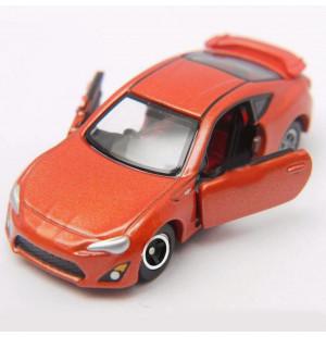 Xe ô tô mô hình Tomica Limited Toyota 86 màu cam (Không hộp)