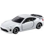 Xe ô tô mô hình Tomica Toyota 86 tỷ lệ 1/60 - Trắng (Không hộp)