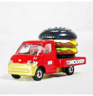 Xe mô hình chở hamburger Tomicashop Toyota Town Ace