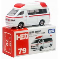 Xe cứu thương mô hình Tomica Toyota Himedic (Box)
