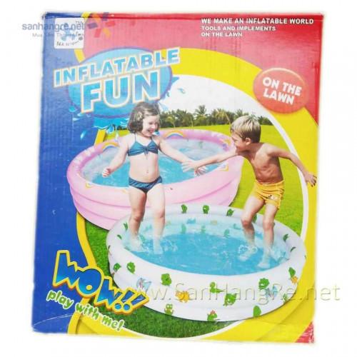 Bể bơi phao Inflatable Fun cho bé