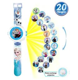 Đồng hồ điện tử đeo tay chiếu hình 3D WLT22J Frozen