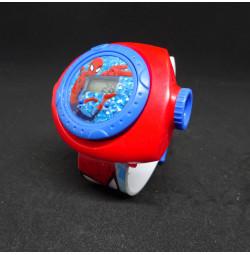 Đồng hồ điện tử đeo tay chiếu hình 3D WLT22K Người Nhện Spider Man