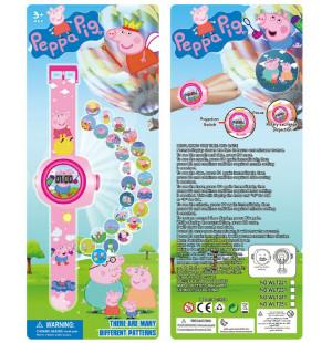 Đồng hồ điện tử đeo tay chiếu hình 3D WLT221 Peppa Pig