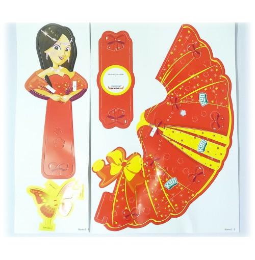 Lồng đèn sáng tạo Kibu Mama bay