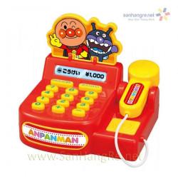 Máy tính tiền siêu thị Anpanman Mini chạy pin phát tiếng