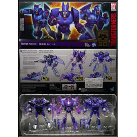 [SUPER SALE] Bộ 3 Robot Transformers Platinum Edition Armada of Cyclonus - Scourge - Decepticon Sweep (Box)