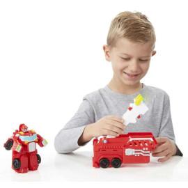 Đồ chơi Robot Transformer Rescue Bots Hook biến hình xe cứu hỏa (Box)