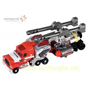 Xe chở pháo 2 nòng Tomy Fire Truck (Box)