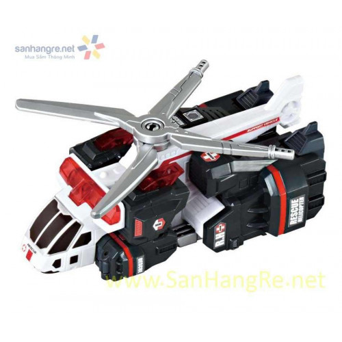 Máy bay lắp ráp Tomy Rescue Helicopter (Box)