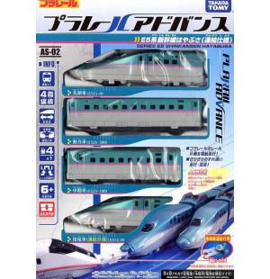 Mô hình tàu siêu tốc chạy pin Takara Tomy Series E5 Shinkansen Hayabusa