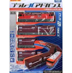 Mô hình tàu hỏa chạy pin Takara Tomy EF510 Red Thunder
