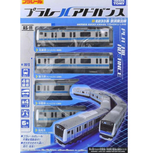 Mô hình tàu hỏa chạy pin Takara Tomy Series E233 Keihin Tohoku Line